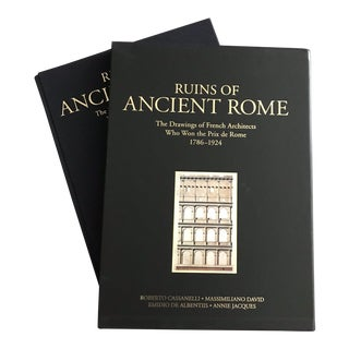 Ruins of Ancient Rome: The Drawings of French Architects Who Won the Prix De Rome 1786-1924 For Sale