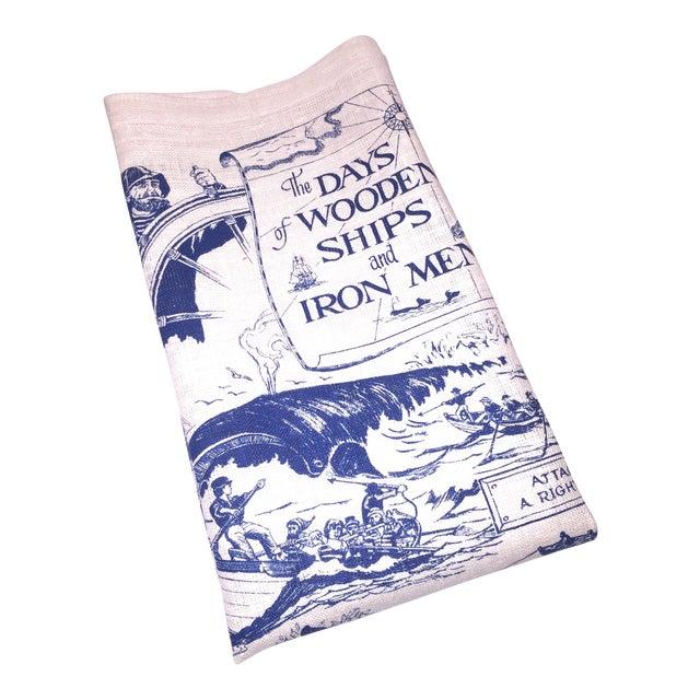 Wooden Ships & Iron Men Tea Towel - Image 1 of 6