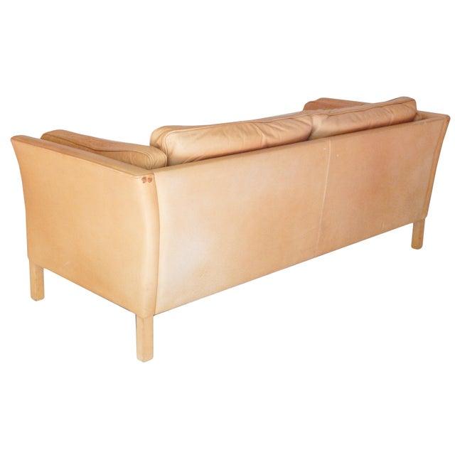 Mid-Century Danish Sofa For Sale - Image 4 of 8