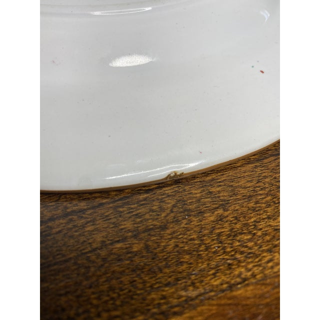 English Cauldron Dinner Plate For Sale In Washington DC - Image 6 of 7