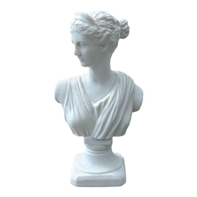 Miniature Fine Porcelain Diana Bust For Sale