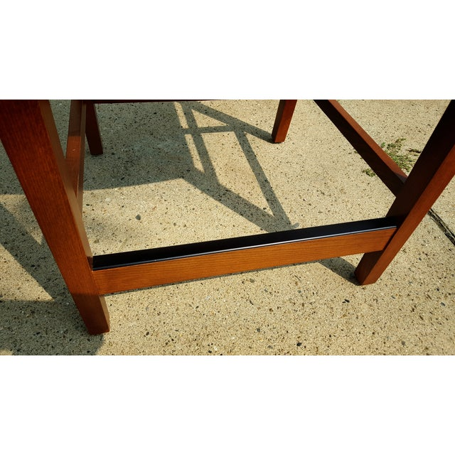 Contemporary Modern Ricchio Barstool by Knoll - Image 4 of 6