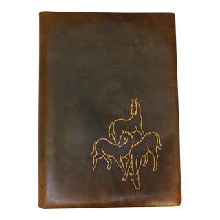 German Leather Artist's Folio For Sale