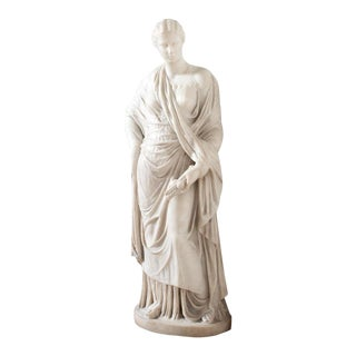Mid 19th Century Antique Italian Marble Figure