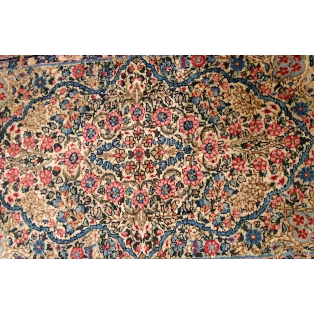 Islamic 1920s, Handmade Antique Persian Kerman Rug 2.1' X 3.2' - 1b704 For Sale - Image 3 of 7