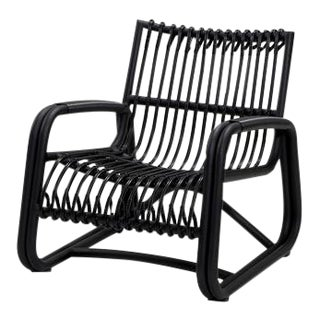 Cane-Line Curve Lounge Chair For Sale