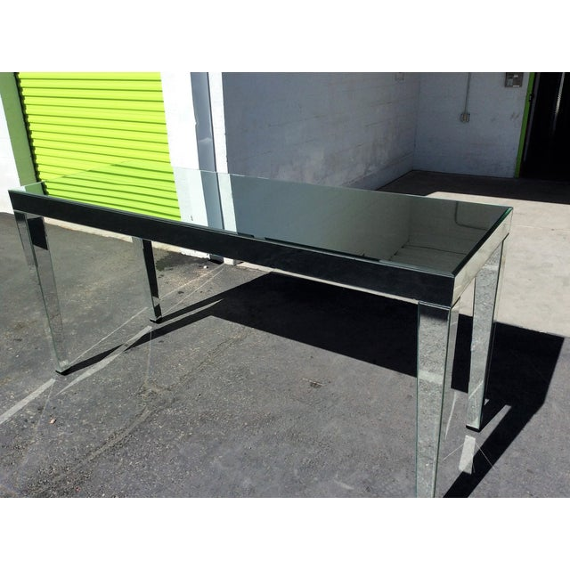 Large Beveled Mirror Hall Table - Image 6 of 7