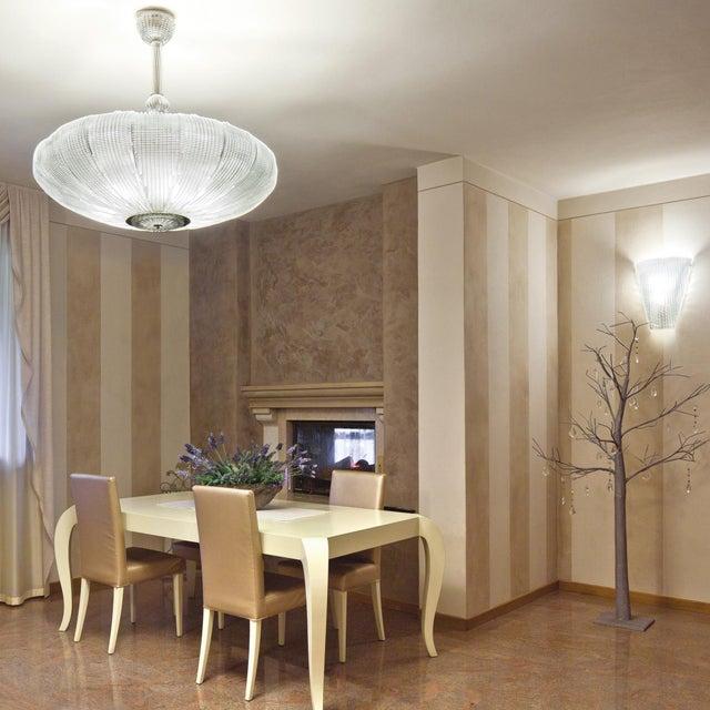 Art Deco Space Chandelier by Fabio Ltd For Sale - Image 3 of 5