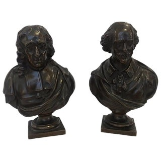 19th Century French Bronzes Signed F. Barbedienne - a Pair For Sale