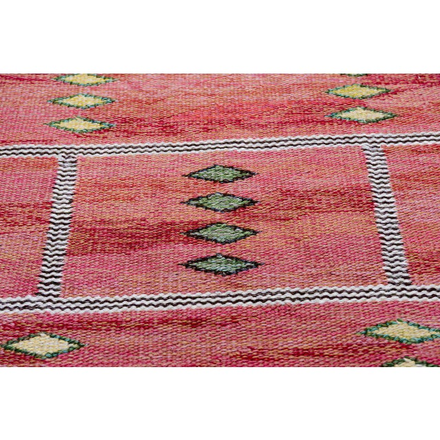 Vintage Carl Dagel Flat-Weave Swedish Carpet - Image 5 of 8