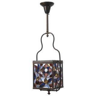 Aesthetic Style Stained Glass Harp Lantern For Sale