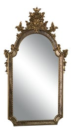 Image of Italian Mantel and Fireplace Mirrors