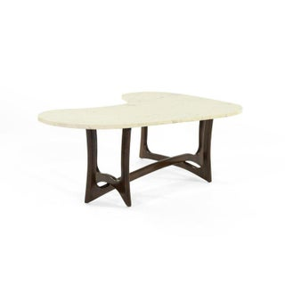 1950s Asymmetric Marble-Top Coffee Table by Adrian Pearsall Preview