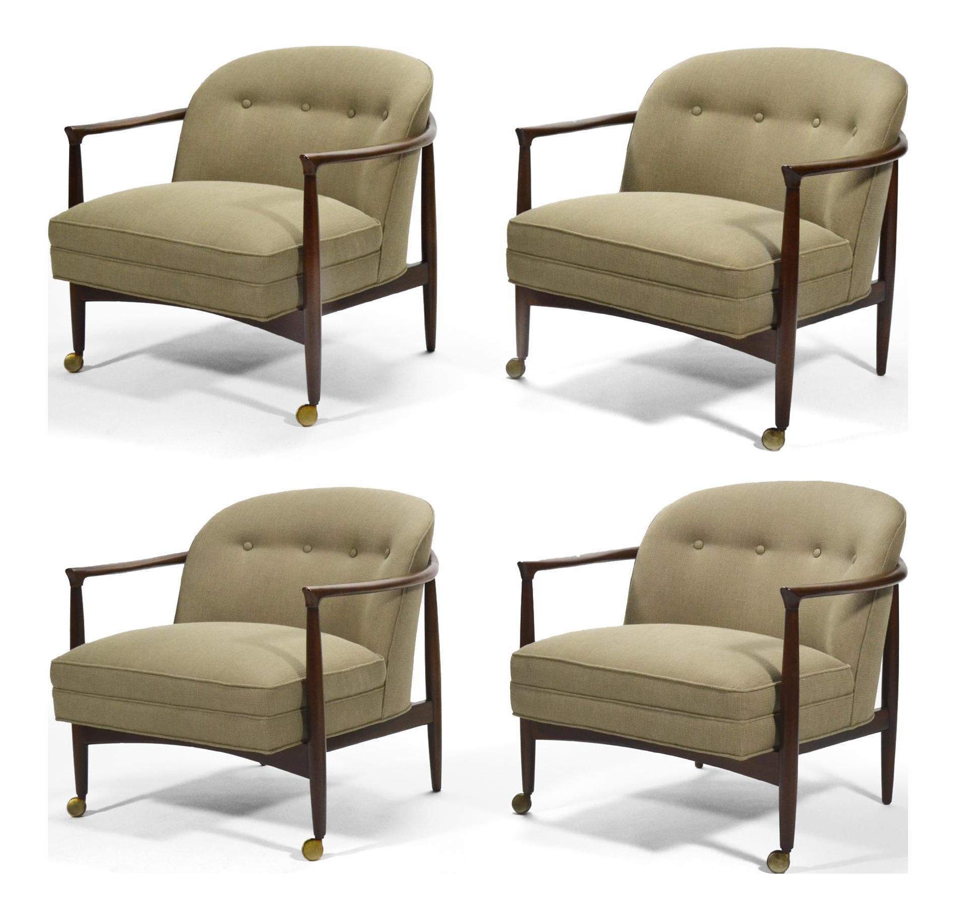Finn Andersen Barrel Back Lounge Chairs   Image 1 Of 11