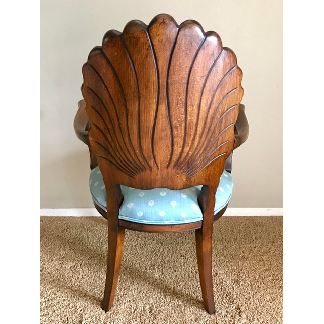 Late 20th Century Italian Venetian Grotto Dining Chairs- Set of 4 For Sale In San Diego - Image 6 of 10