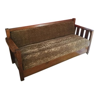 Vintage Arts & Crafts/ Mission Style Settle For Sale