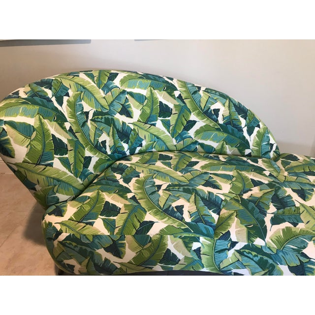1980s Palm Beach Chaise Lounge One of a Kind For Sale - Image 5 of 13
