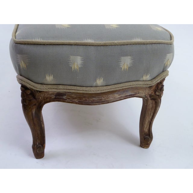 Late 18th Century Louis XV Foot Stool Tabouret with Original Age Finish 18th Century For Sale - Image 5 of 13
