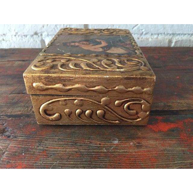 Florentine Wooden Box - Image 7 of 8