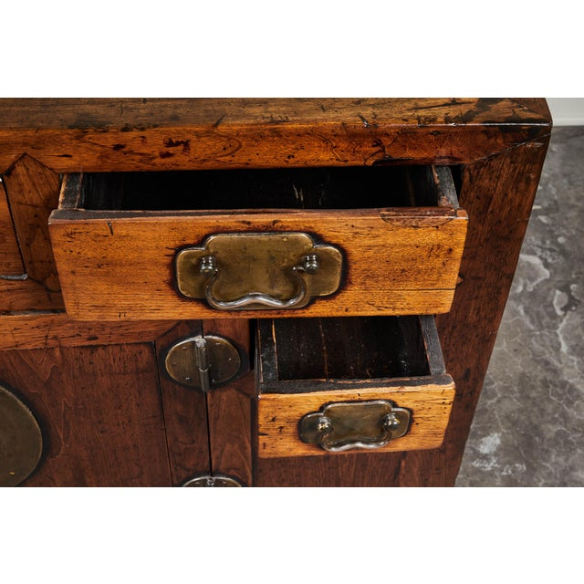 19th C. Chinese Poplar Sideboard For Sale - Image 9 of 10