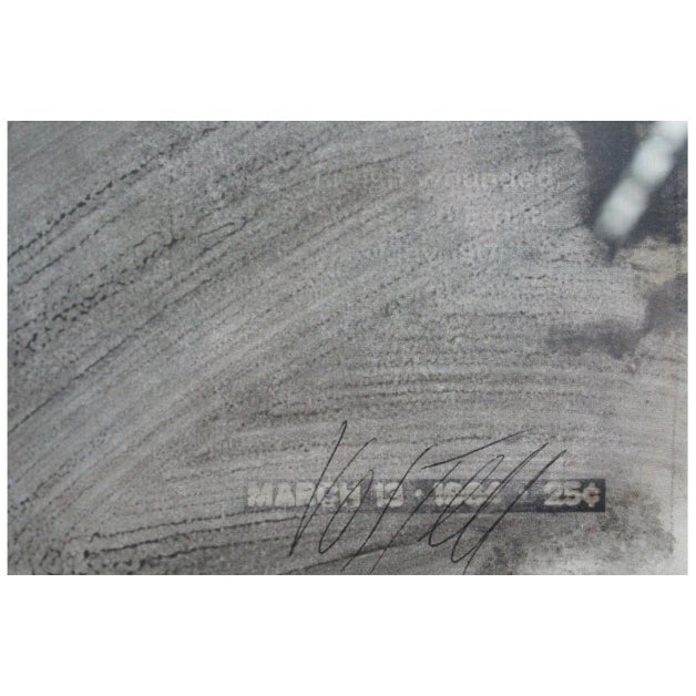1960s Wolf Vostell Wwi Overprint For Sale - Image 5 of 7