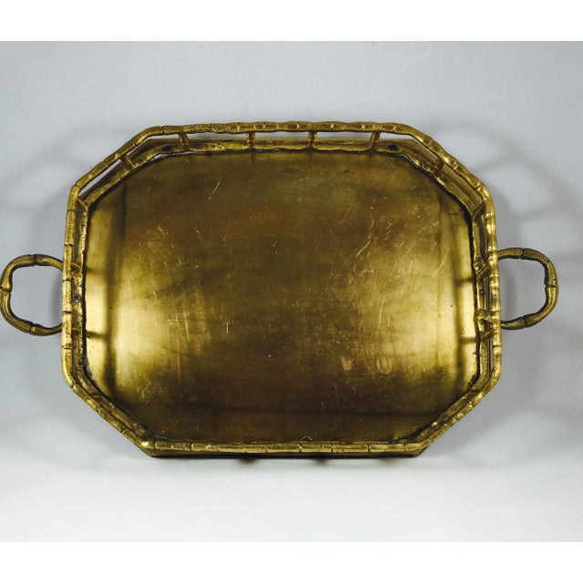 Vintage Brass Handled Tray - Image 2 of 3