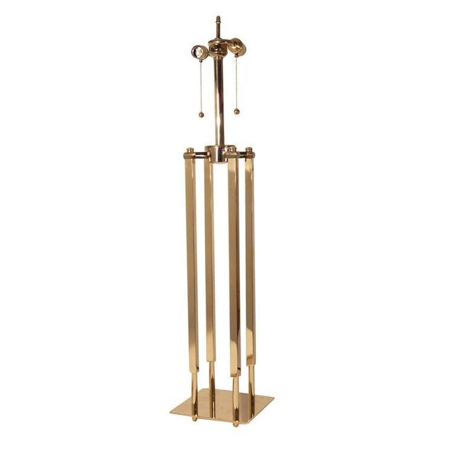 Pair of Stiffel Parzinger Style Lamps - Image 5 of 10