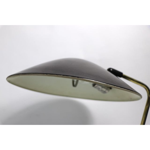 Mid-Century Modern Mid Century Disk Lamp by Thurston for Lightolier For Sale - Image 3 of 10