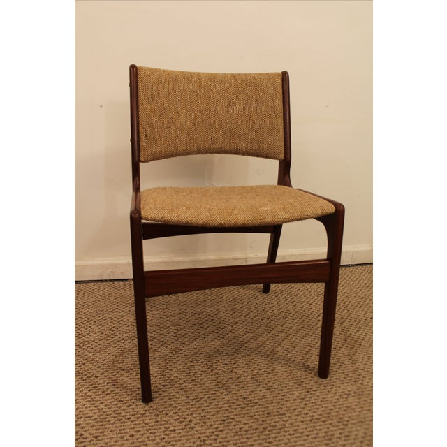 Hans Wegner Style Teak Dining Side Chair - Image 7 of 7
