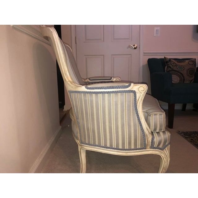 French Provincial French Provincial Style Chair For Sale - Image 3 of 10
