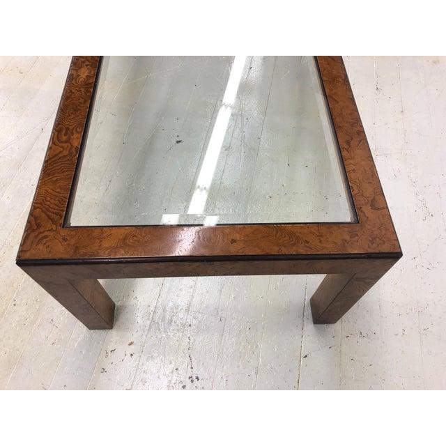 Mid-Century Modern Mid-Century Modern John Widdicomb Parsons Style Coffee Table For Sale - Image 3 of 9
