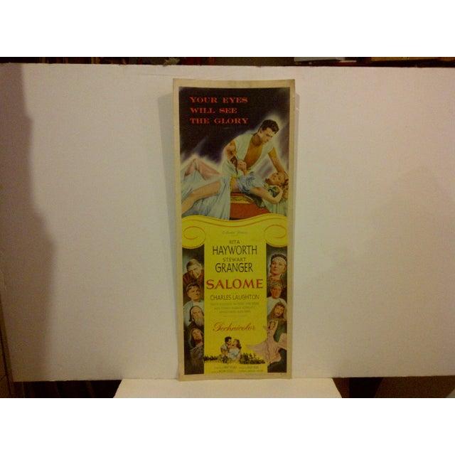 "Vintage Movie Poster ""Salome"" - Image 2 of 5"