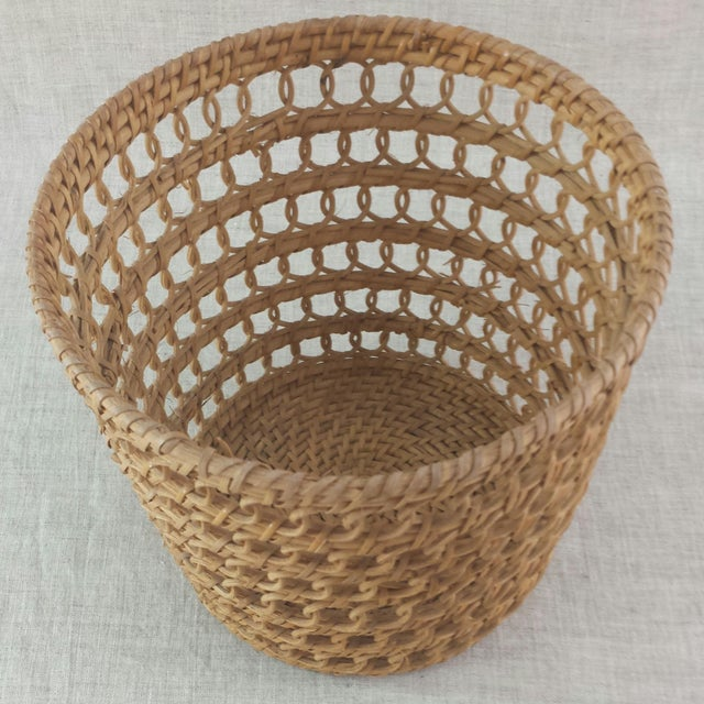 Bamboo Woven Basket - Image 3 of 6