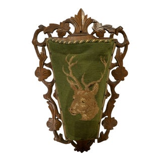 19th Century Hanging Slippers Holder For Sale