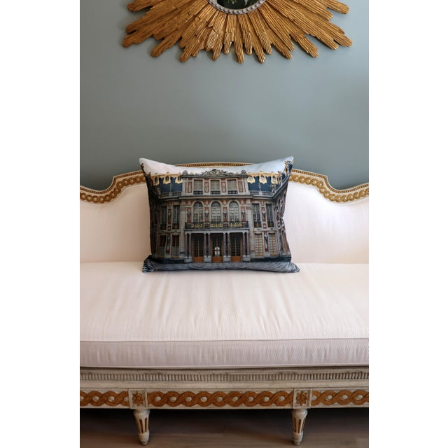 Versailles Rear Courtyard Photo Pillow For Sale - Image 9 of 12