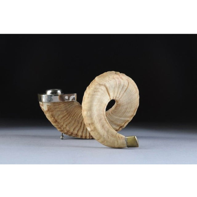 Ram's Horn Candle Holders - Set of 3 For Sale In Palm Springs - Image 6 of 11