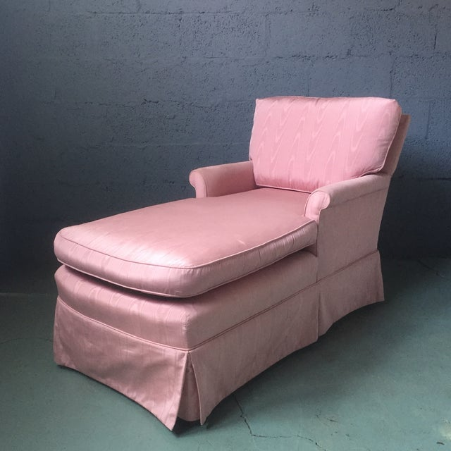 Vintage Pink Chaise Lounge - Image 2 of 11