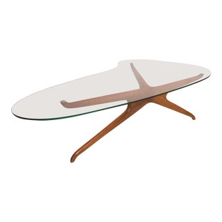 Mid-Century Coffee Table After Adrian Pearsall For Sale