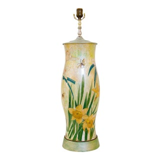 Billy Haines Decoupage Lamp For Sale