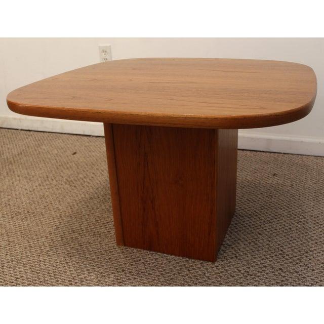 Mid-Century Danish Modern Mobler Teak Side Table - Image 2 of 10