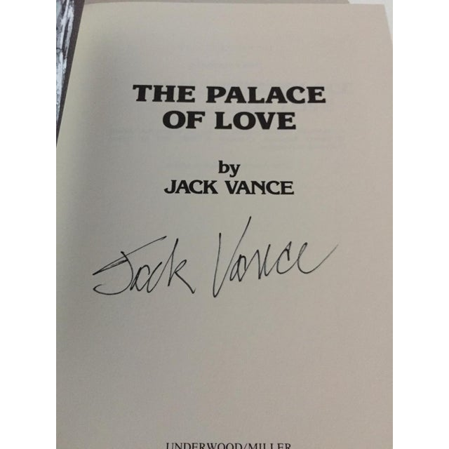 """""""The Demon Princes Series"""" Leatherette Volumes by Jack Vance, Signed - 5 Books For Sale - Image 4 of 8"""