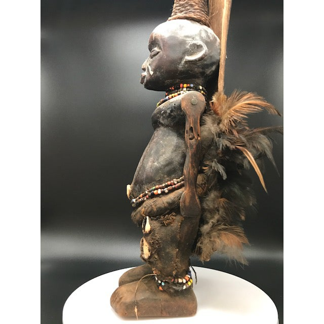 Original and authentic African sculpture. Sourced from a small village in Tanzania. No stand needed as the sculpture rests...