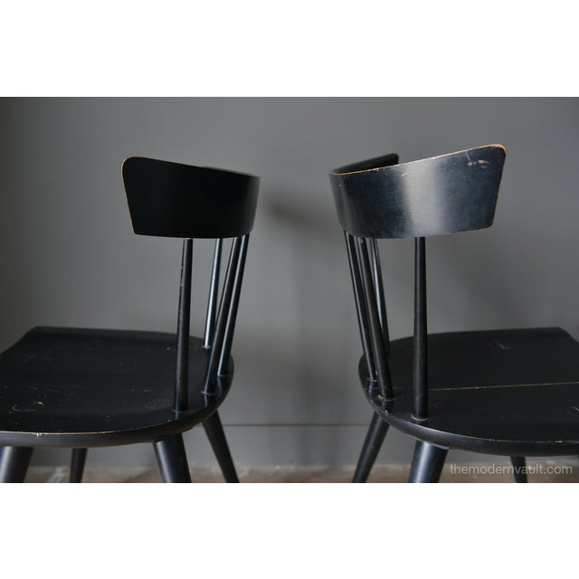 1950s Vintage Paul McCobb Planner Group Chairs- A Pair For Sale In Los Angeles - Image 6 of 13