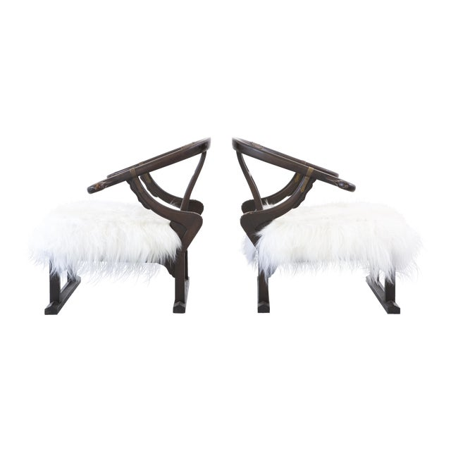 Pair of Michael Taylor for Baker Furniture Lounge Chairs - Image 1 of 11