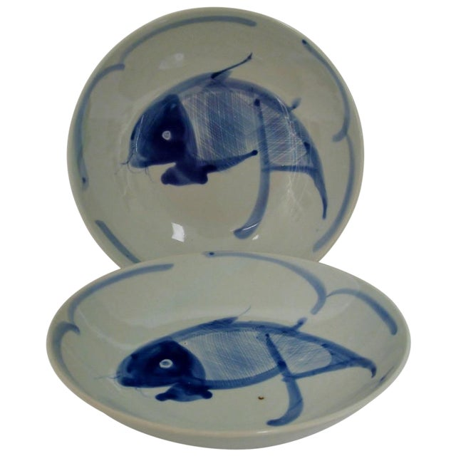 Chinese Porcelain Serving Bowls - A Pair - Image 1 of 5