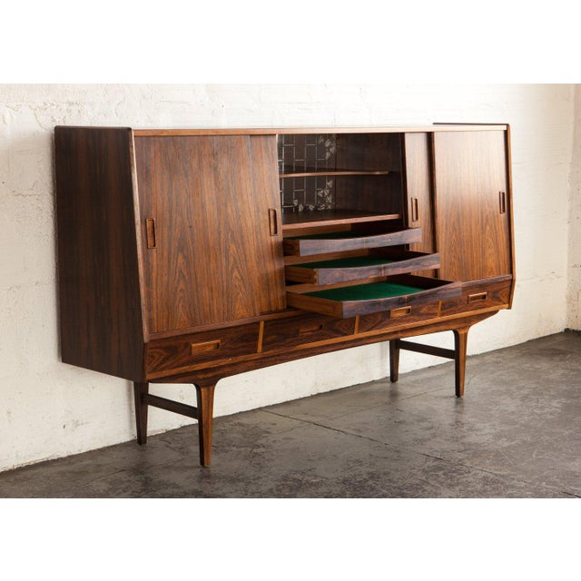 1960s Swedish Rosewood Sideboard For Sale - Image 10 of 13