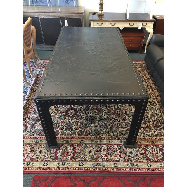 Vintage French Steel Tank Table - Image 3 of 11