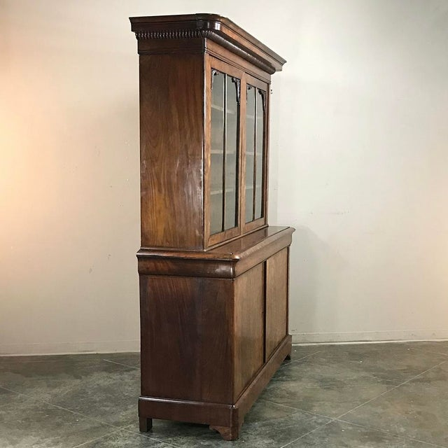 Mid 19th Century Mid-19th Century Louis Philippe Mahogany Bookcase For Sale - Image 5 of 11