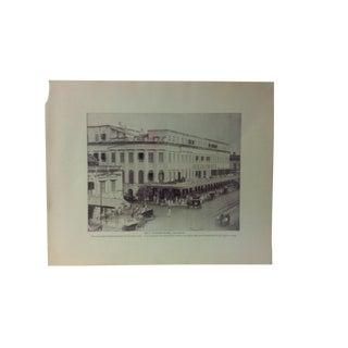"Antique Glimpses of India Print, ""Great Eastern Hotel - Calcutta"", Circa 1890 For Sale"