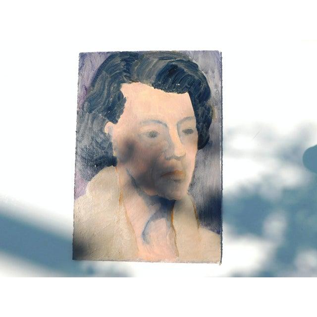 Portraiture Belle Grandmère Original Painting For Sale - Image 3 of 6